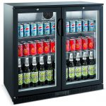 unitech-bc20hbe-double-hinged-door-back-bar-display-fridge