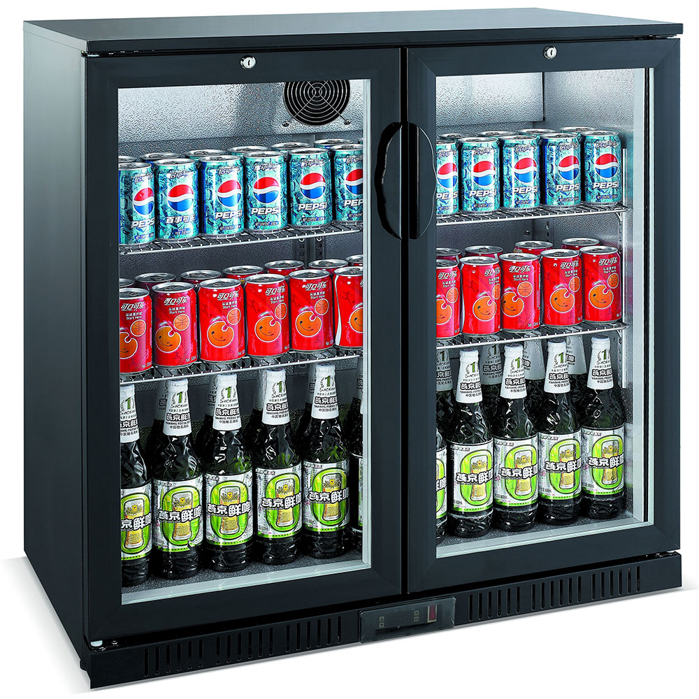 Unitech BC20HBE Hinged Door Back Bar Fridge