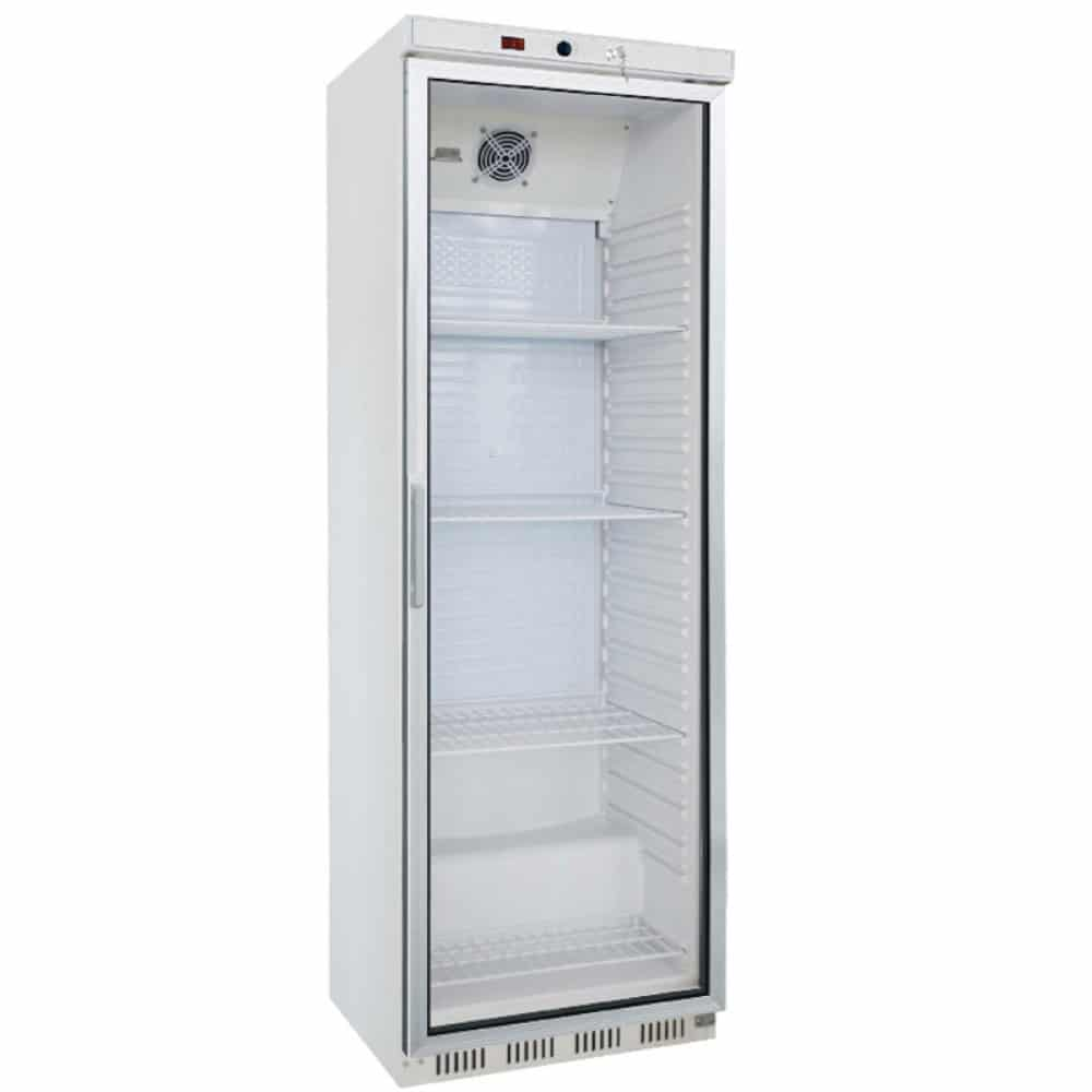 Unitech HR400G Upright Display Fridge