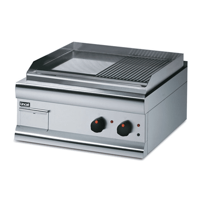 Griddle Half-Ribbed Dual Zone