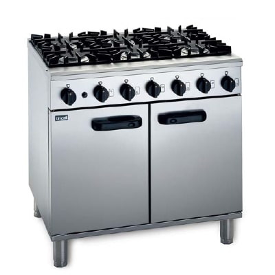 Lincat Medium Duty Six Burner Gas Range LMR9/N