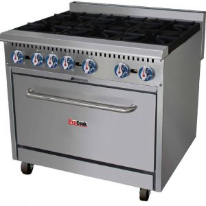 ProCook 6 Ring Gas Burner